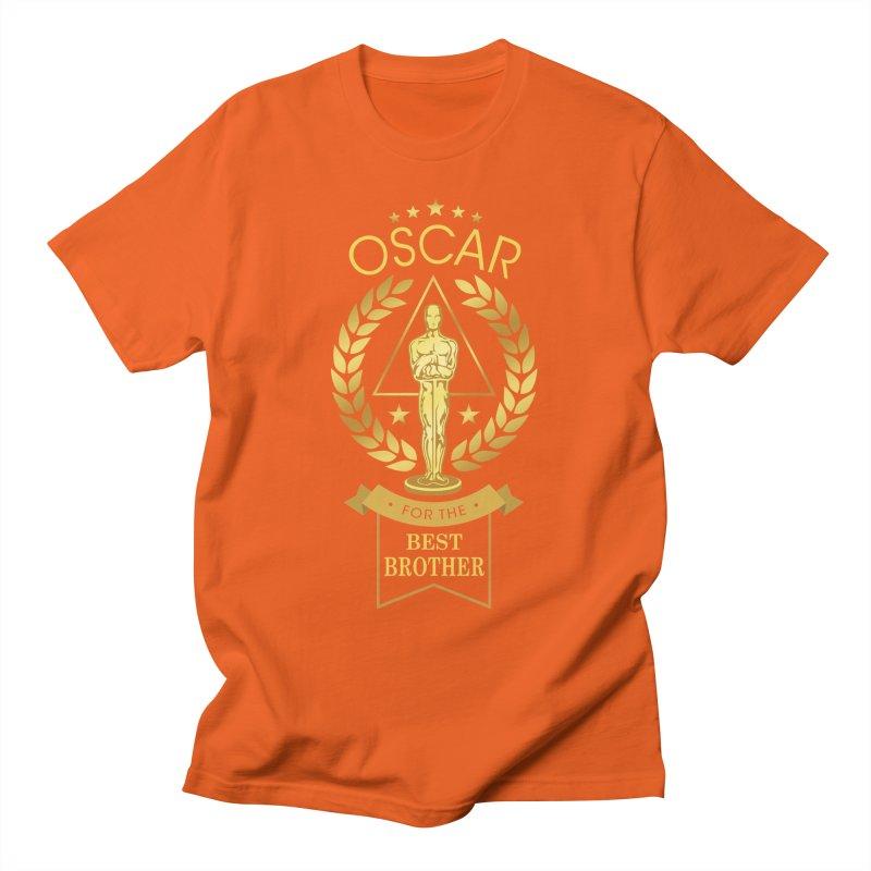 Award-Winning Brother Men's T-Shirt by Olipop Art & Design Shop