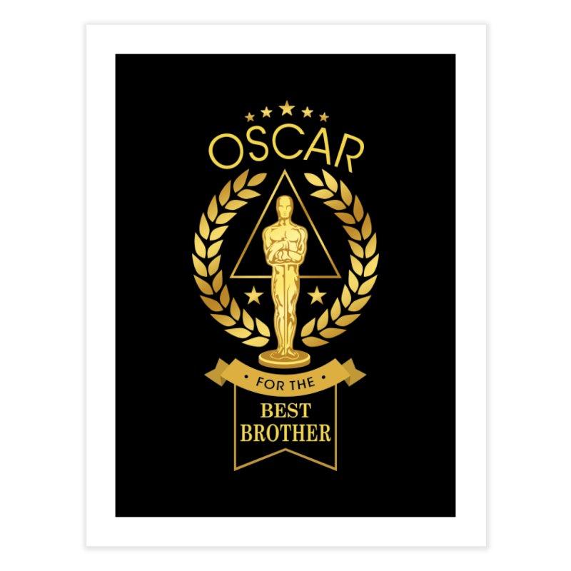 Award-Winning Brother Home Fine Art Print by Olipop Art & Design Shop