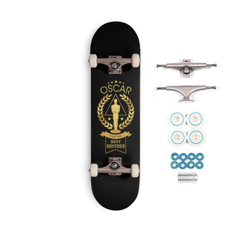 Award-Winning Brother Accessories Skateboard by Olipop Art & Design Shop
