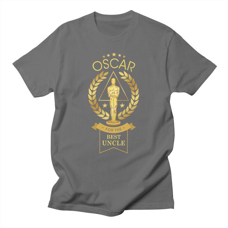 Award-Winning Uncle Men's T-Shirt by Olipop Art & Design Shop