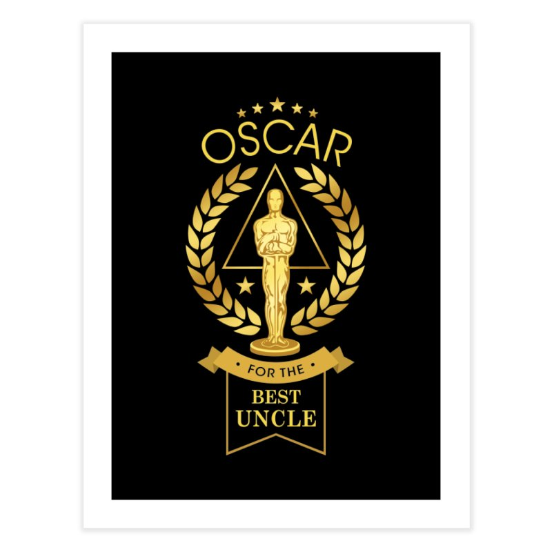 Award-Winning Uncle Home Fine Art Print by Olipop Art & Design Shop