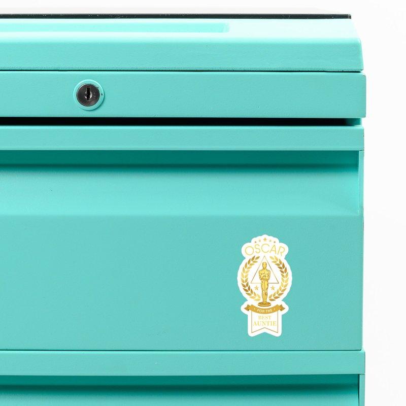 Award-Winning Auntie Accessories Magnet by Olipop Art & Design Shop