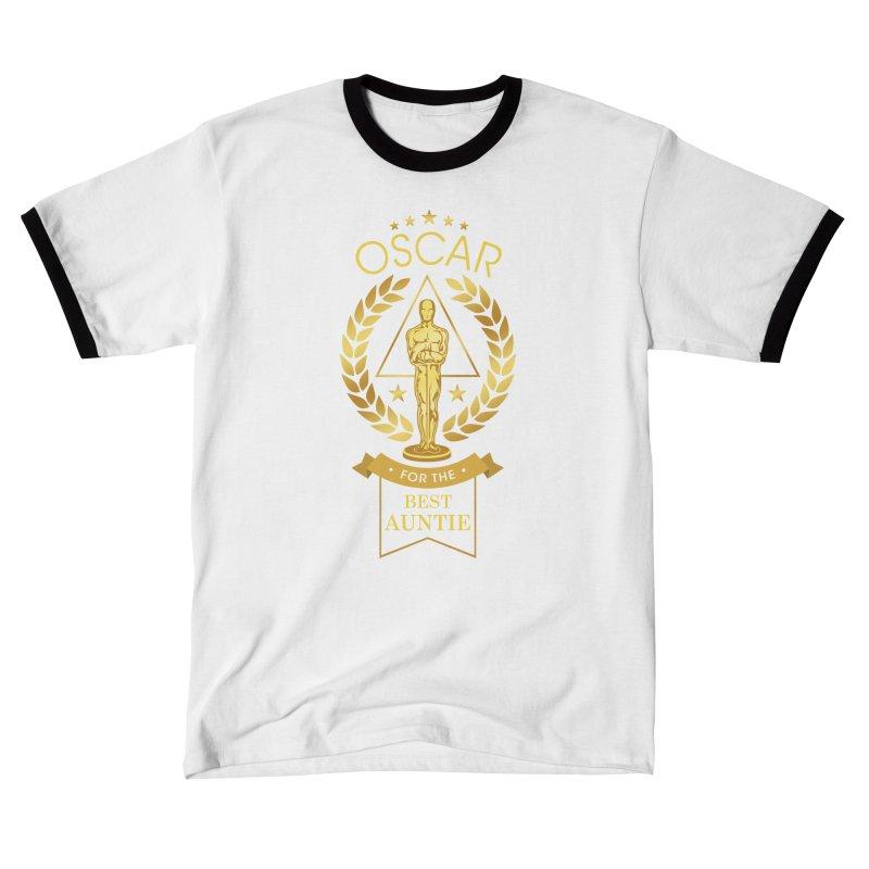 Award-Winning Auntie Men's T-Shirt by Olipop Art & Design Shop