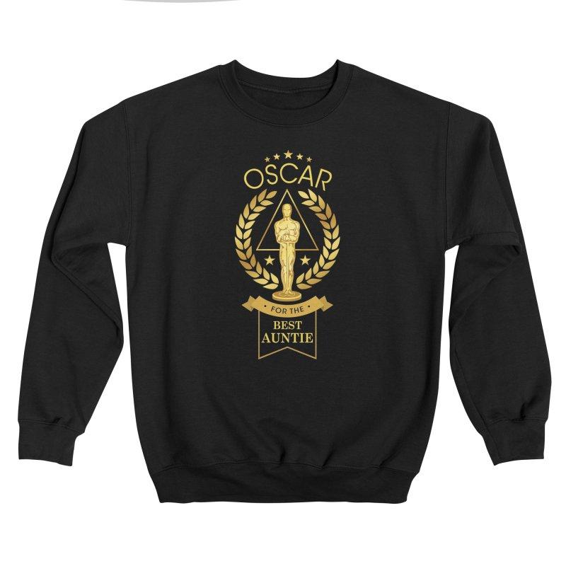 Award-Winning Auntie Men's Sweatshirt by Olipop Art & Design Shop