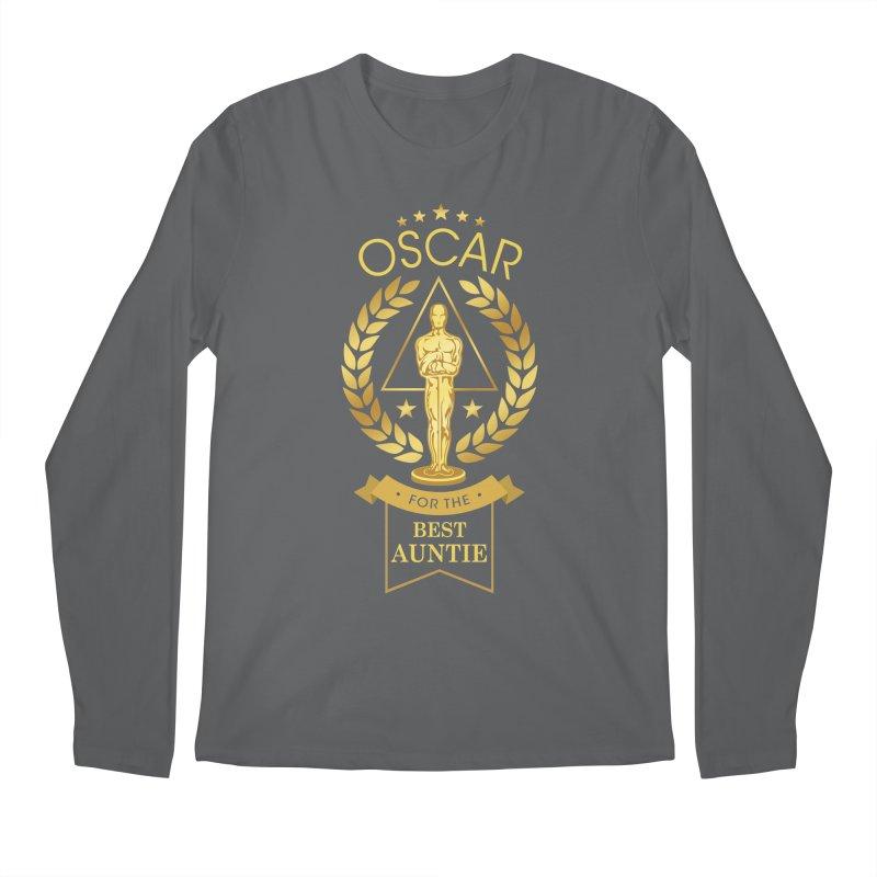 Award-Winning Auntie Men's Longsleeve T-Shirt by Olipop Art & Design Shop