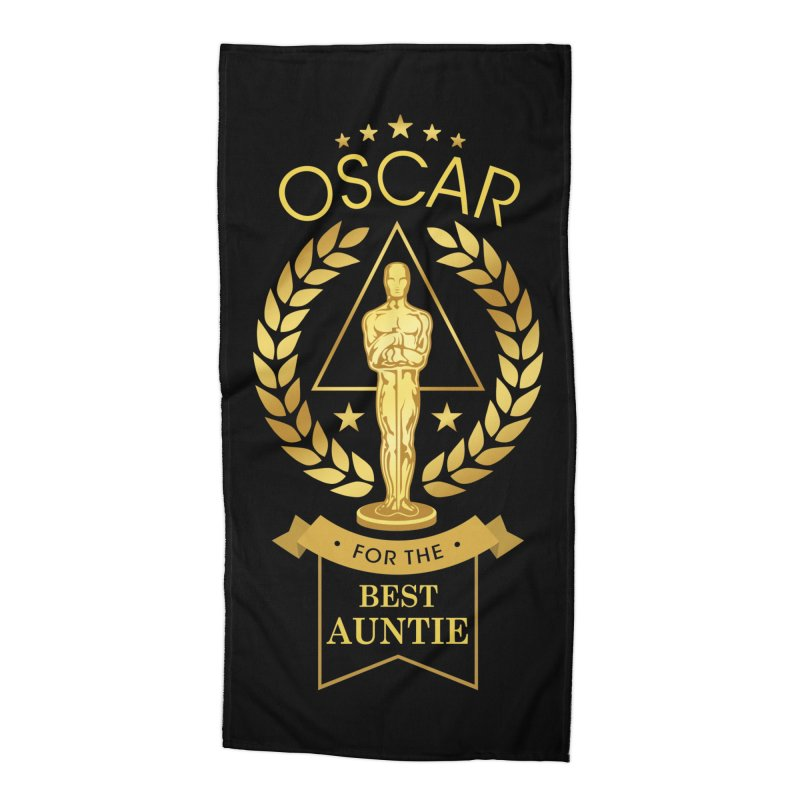 Award-Winning Auntie Accessories Beach Towel by Olipop Art & Design Shop