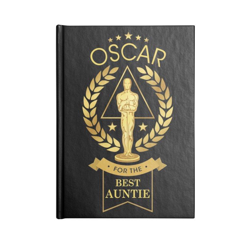 Award-Winning Auntie Accessories Notebook by Olipop Art & Design Shop