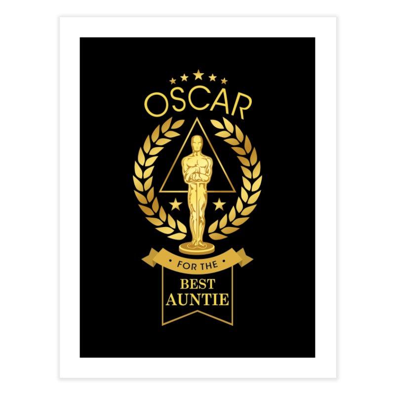 Award-Winning Auntie Home Fine Art Print by Olipop Art & Design Shop