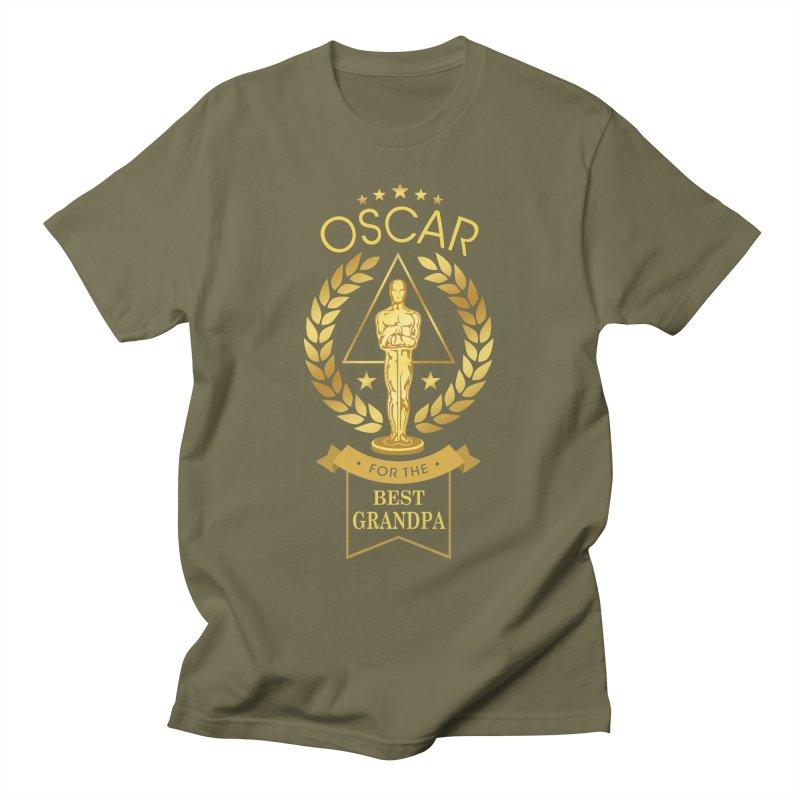 Award-Winning Grandpa Men's T-Shirt by Olipop Art & Design Shop