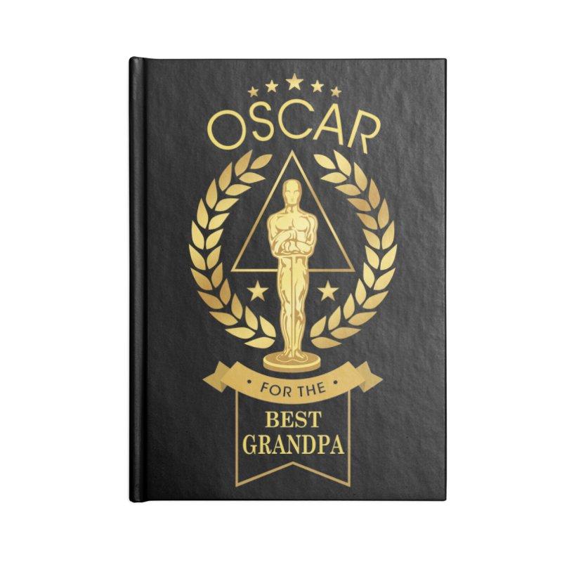 Award-Winning Grandpa Accessories Notebook by Olipop Art & Design Shop