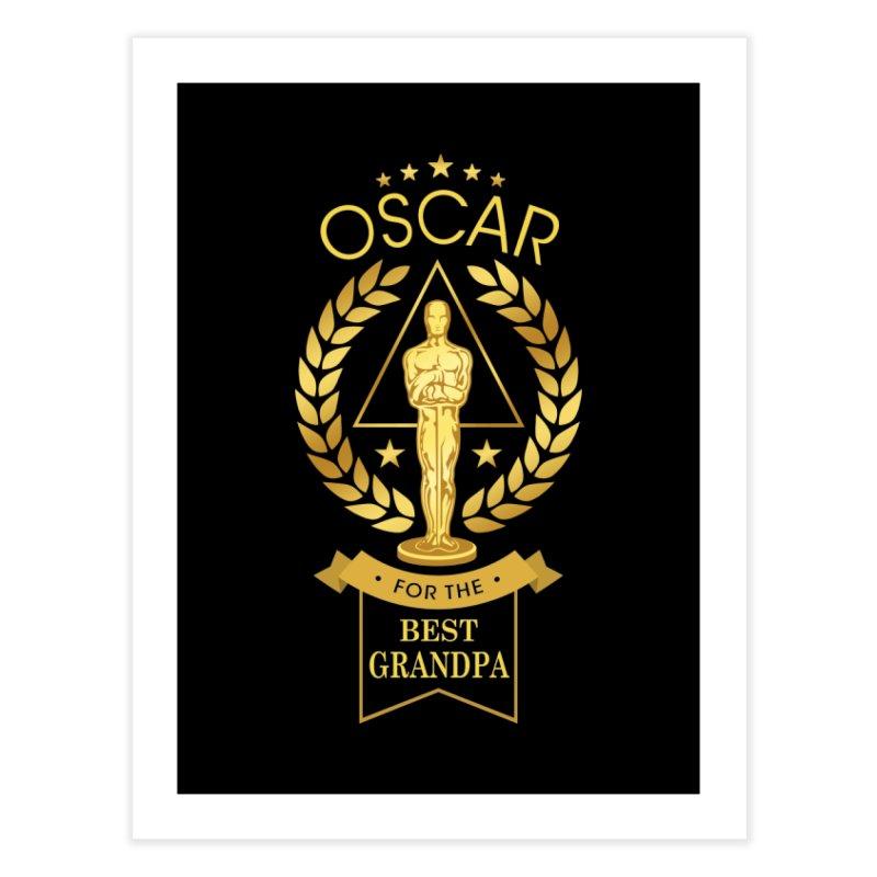 Award-Winning Grandpa Home Fine Art Print by Olipop Art & Design Shop