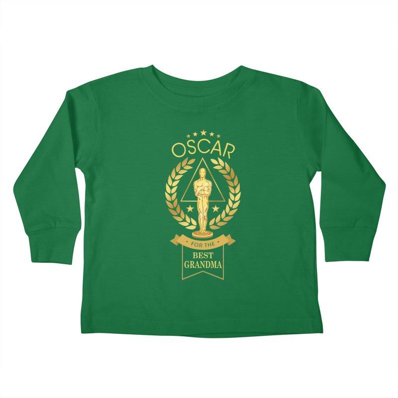 Award-Winning Grandma Kids Toddler Longsleeve T-Shirt by Olipop Art & Design Shop