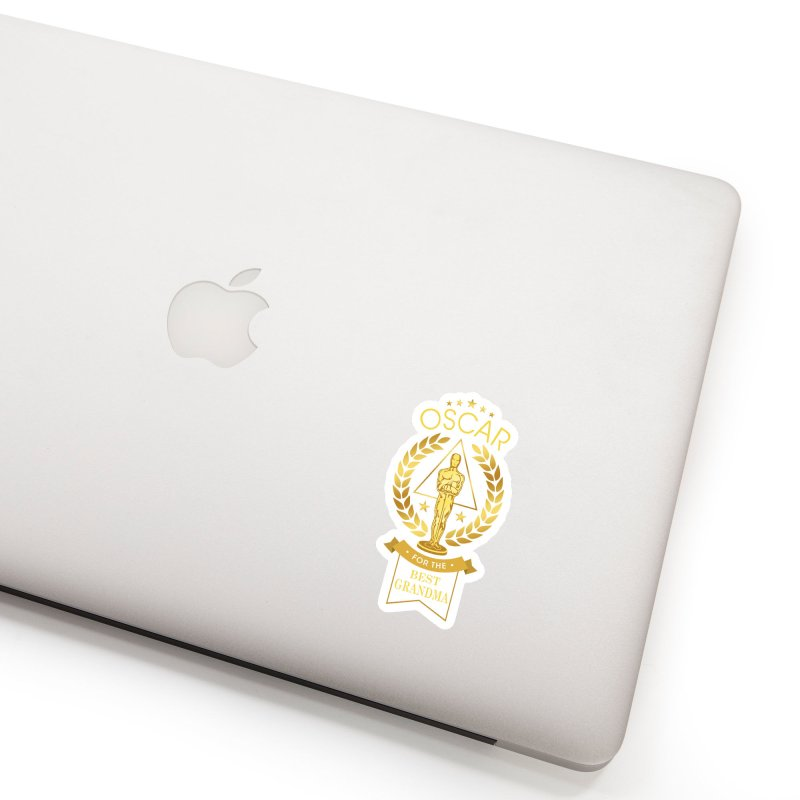 Award-Winning Grandma Accessories Sticker by Olipop Art & Design Shop