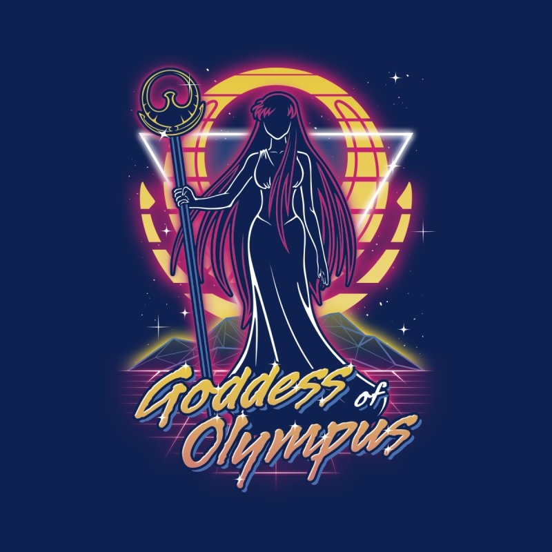 Retro Olympus Goddess Women's Zip-Up Hoody by Olipop Art & Design Shop