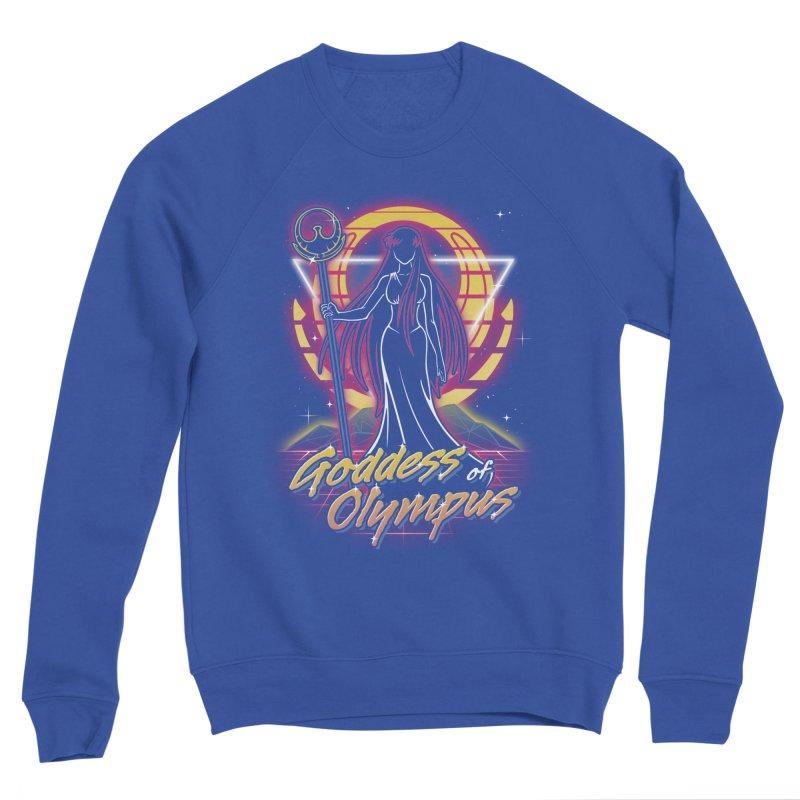 Retro Olympus Goddess Women's Sweatshirt by Olipop Art & Design Shop