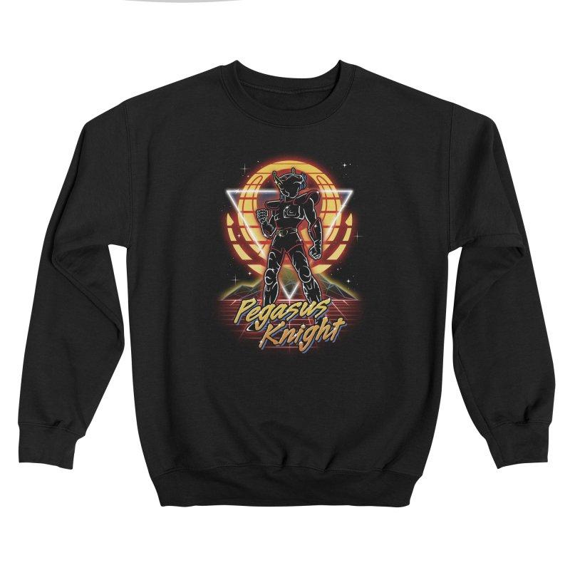Retro Pegasus Knight Women's Sweatshirt by Olipop Art & Design Shop