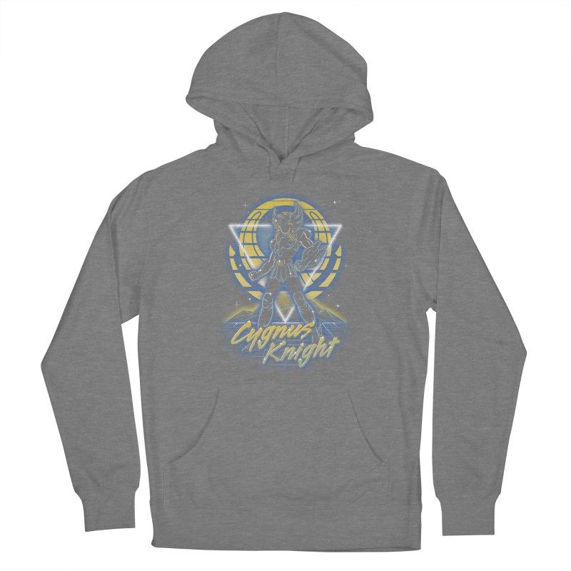 Retro Cygnus Knight Women's Pullover Hoody by Olipop Art & Design Shop