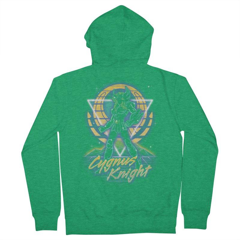Retro Cygnus Knight Women's Zip-Up Hoody by Olipop Art & Design Shop