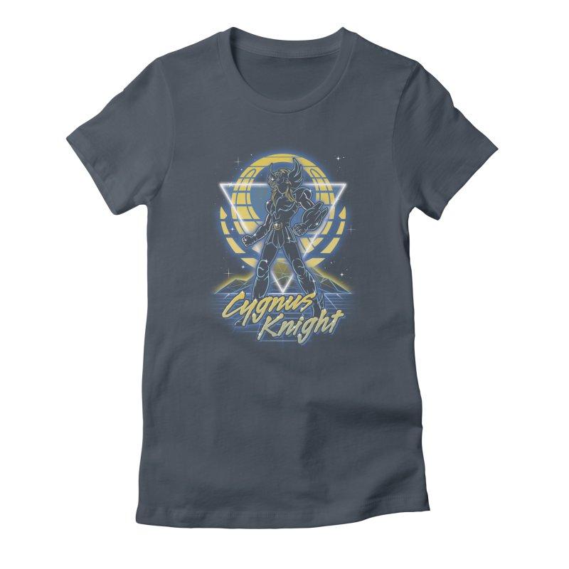 Retro Cygnus Knight Women's T-Shirt by Olipop Art & Design Shop