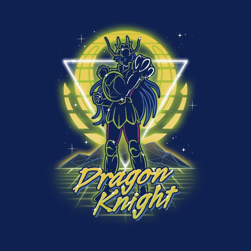 Retro Dragon Knight Accessories Notebook by Olipop Art & Design Shop