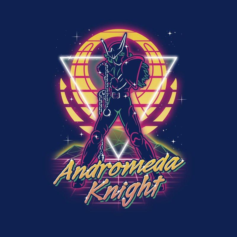 Retro Andromeda Knight Men's T-Shirt by Olipop Art & Design Shop