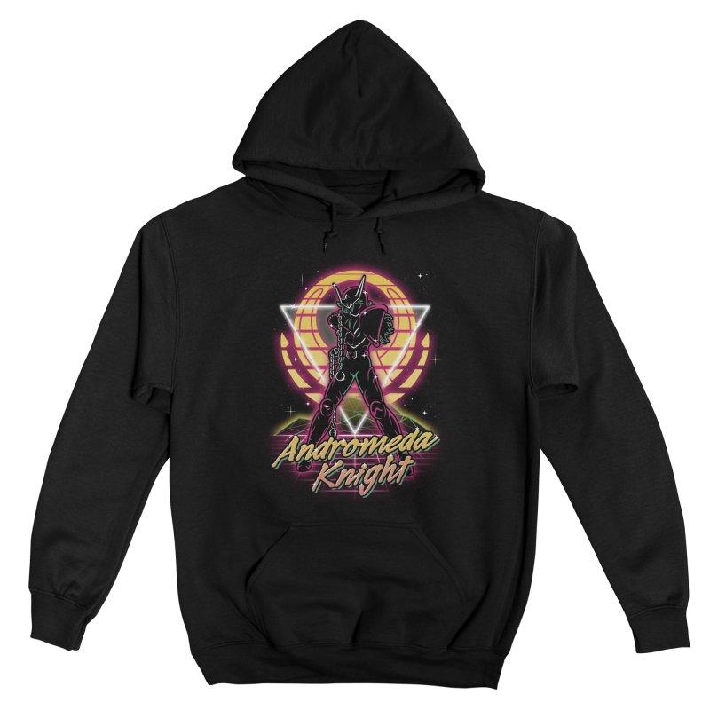 Retro Andromeda Knight Men's Pullover Hoody by Olipop Art & Design Shop