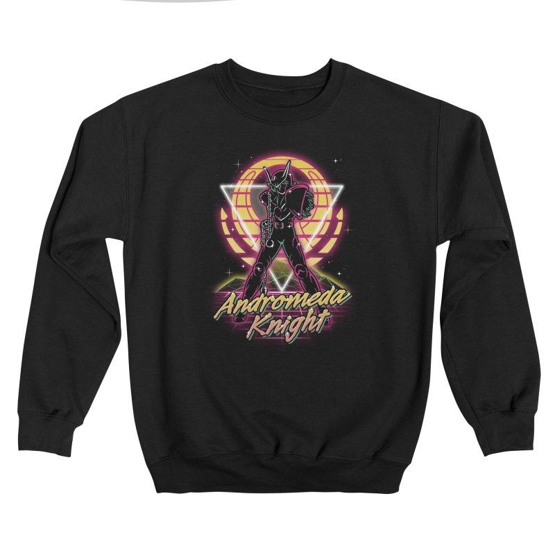 Retro Andromeda Knight Women's Sweatshirt by Olipop Art & Design Shop