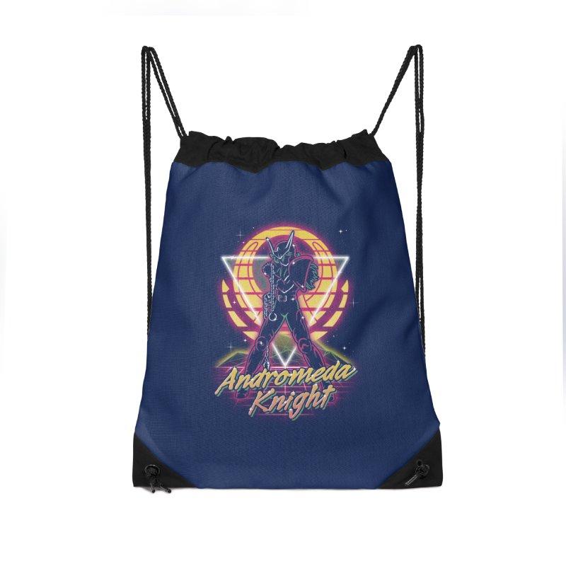 Retro Andromeda Knight Accessories Bag by Olipop Art & Design Shop