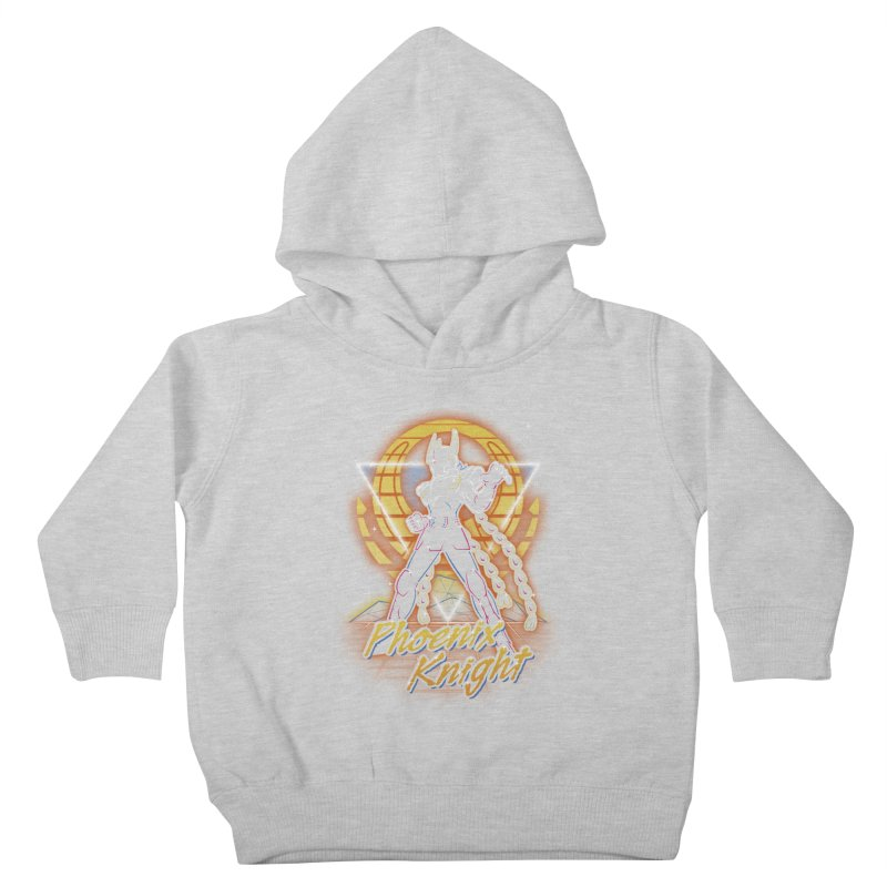 Retro Phoenix Knight Kids Toddler Pullover Hoody by Olipop Art & Design Shop