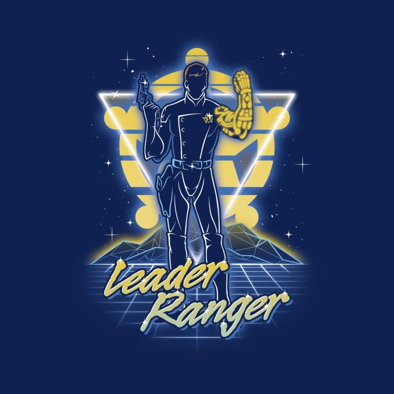 Retro Leader Ranger Accessories Sticker by Olipop Art & Design Shop