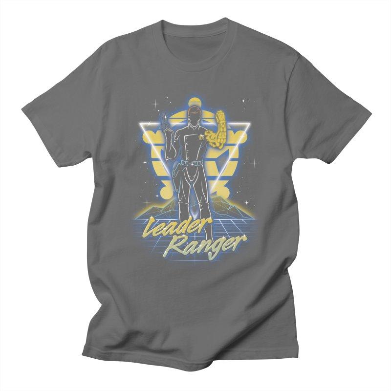 Retro Leader Ranger Men's T-Shirt by Olipop Art & Design Shop