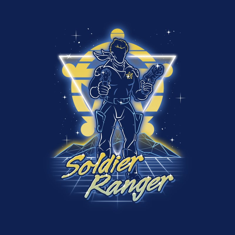 Retro Soldier Ranger Accessories Notebook by Olipop Art & Design Shop