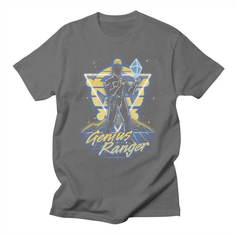 Retro Genius Soldier Men's T-Shirt by Olipop Art & Design Shop