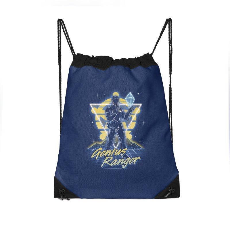 Retro Genius Soldier Accessories Bag by Olipop Art & Design Shop