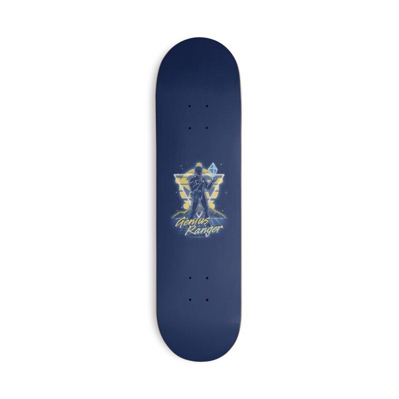 Retro Genius Soldier Accessories Skateboard by Olipop Art & Design Shop