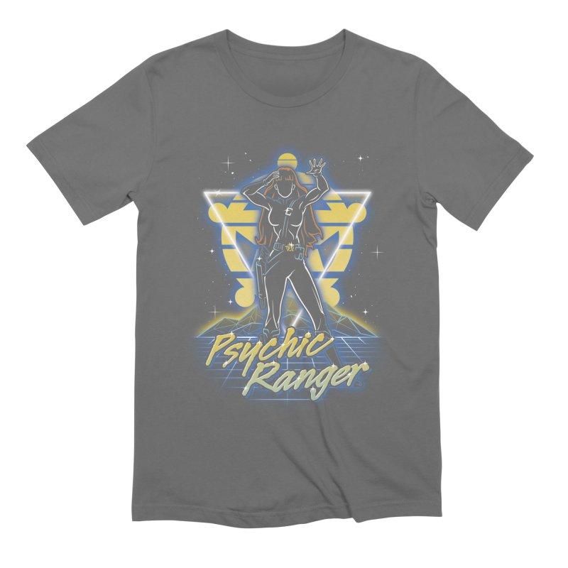 Retro Psychic Ranger Men's T-Shirt by Olipop Art & Design Shop