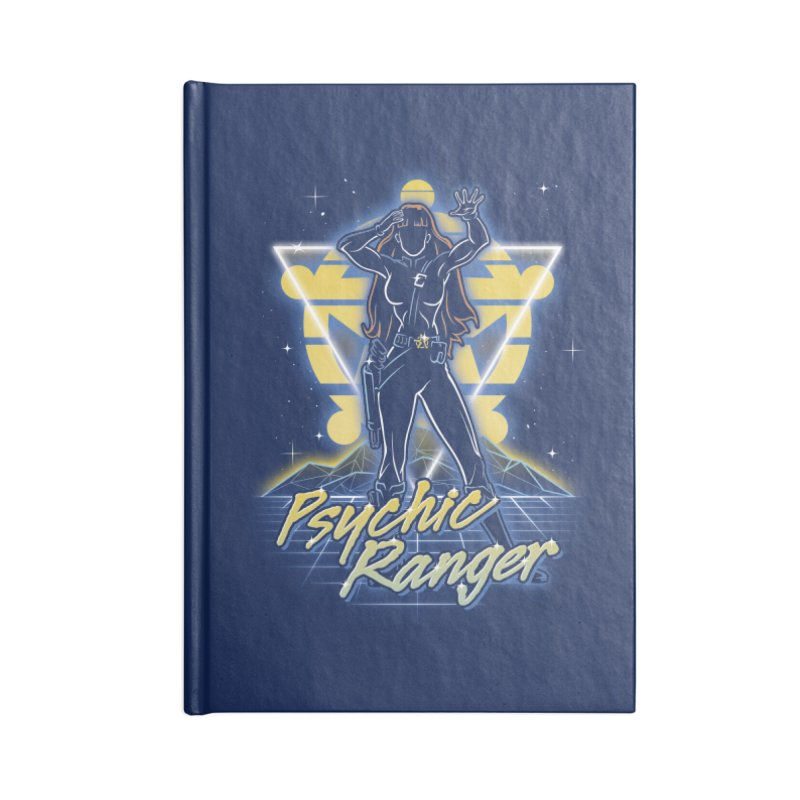 Retro Psychic Ranger Accessories Notebook by Olipop Art & Design Shop