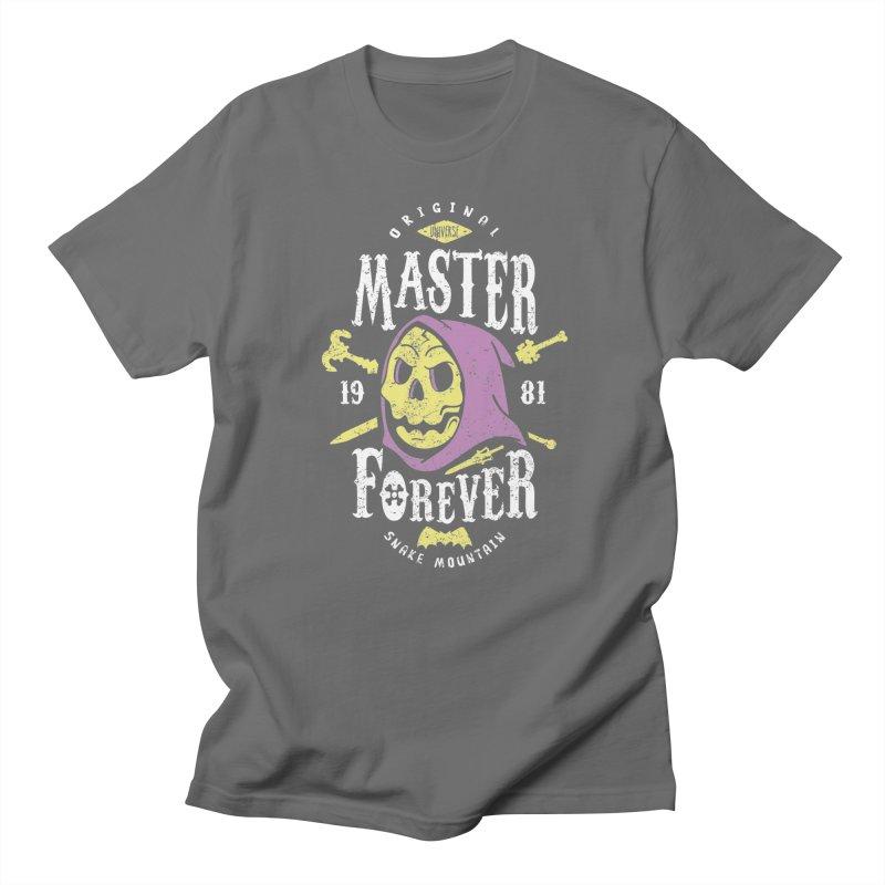 Evil Master Forever Men's French Terry Zip-Up Hoody by Olipop Art & Design Shop