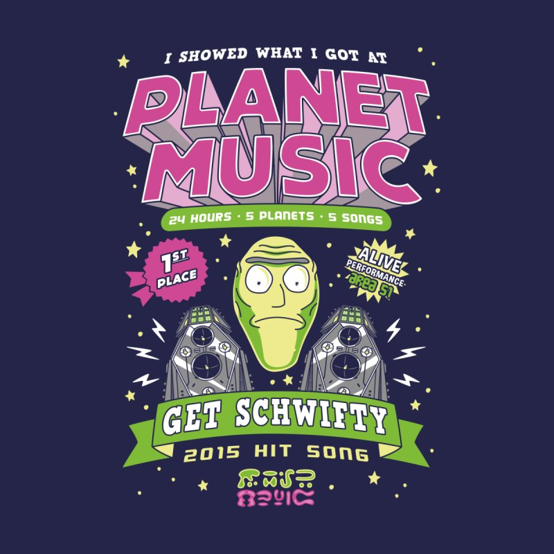 Planet Music Winner by Olipop Art & Design Shop