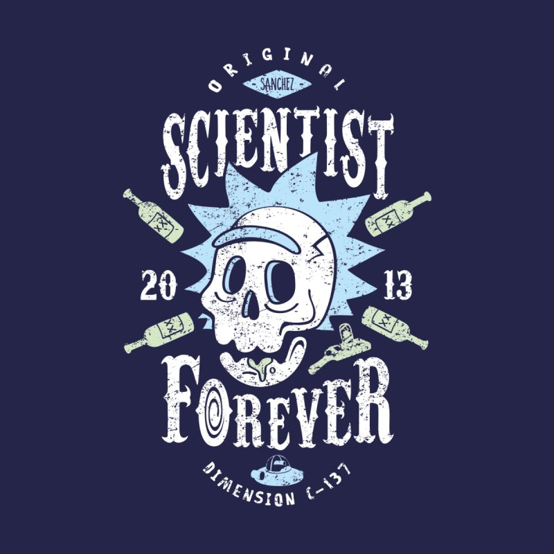 Scientist Forever by Olipop Art & Design Shop