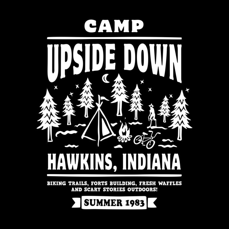 Camp Upside Down by Olipop Art & Design Shop