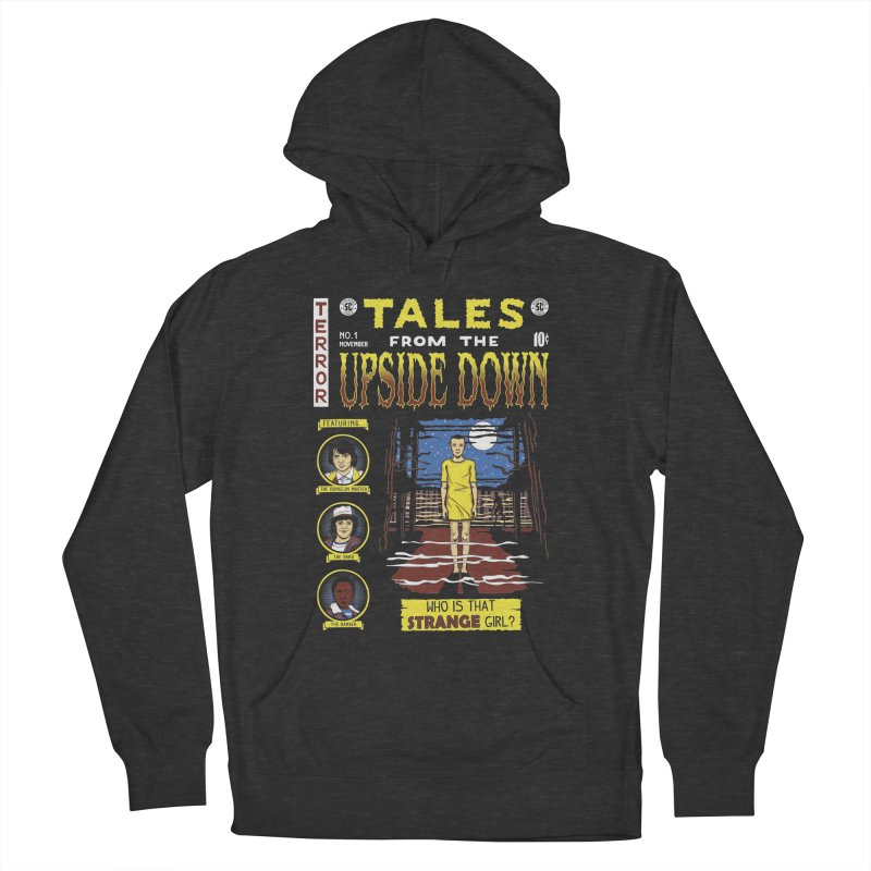 Tales from the Upside Down Women's French Terry Pullover Hoody by Olipop Art & Design Shop