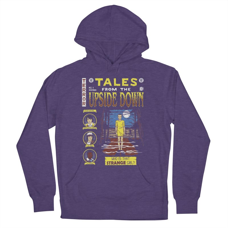Tales from the Upside Down Men's French Terry Pullover Hoody by Olipop Art & Design Shop