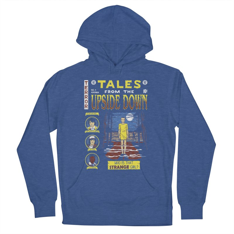 Tales from the Upside Down Men's Pullover Hoody by Olipop Art & Design Shop