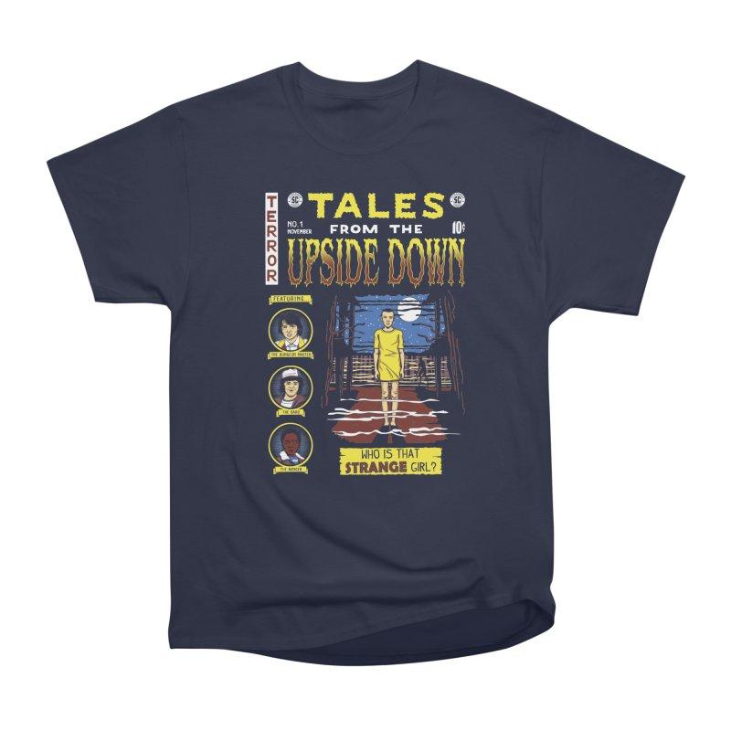 Tales from the Upside Down Women's Heavyweight Unisex T-Shirt by Olipop Art & Design Shop