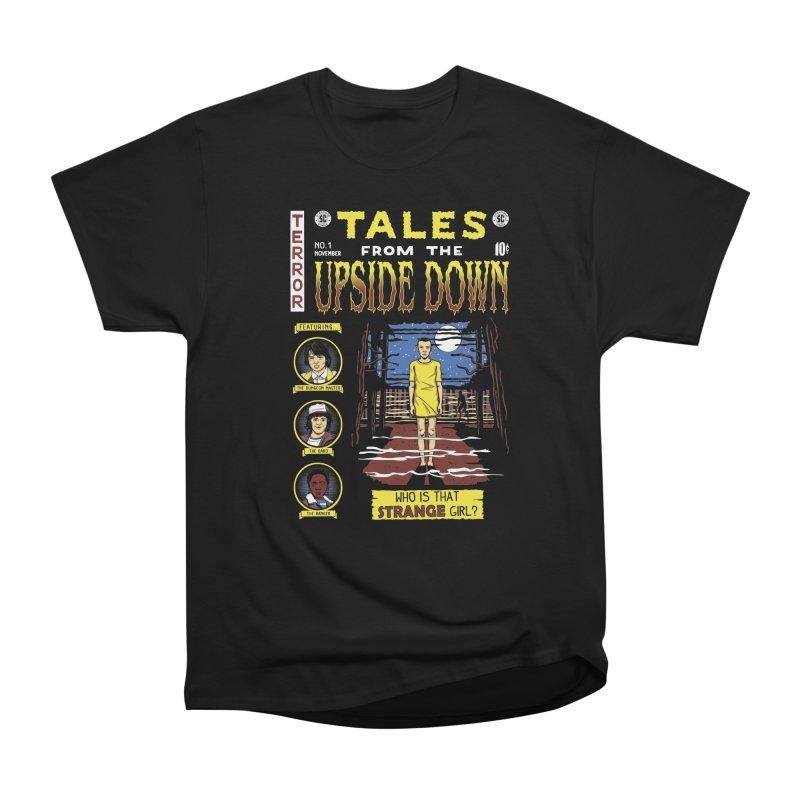 Tales from the Upside Down Men's Heavyweight T-Shirt by Olipop Art & Design Shop