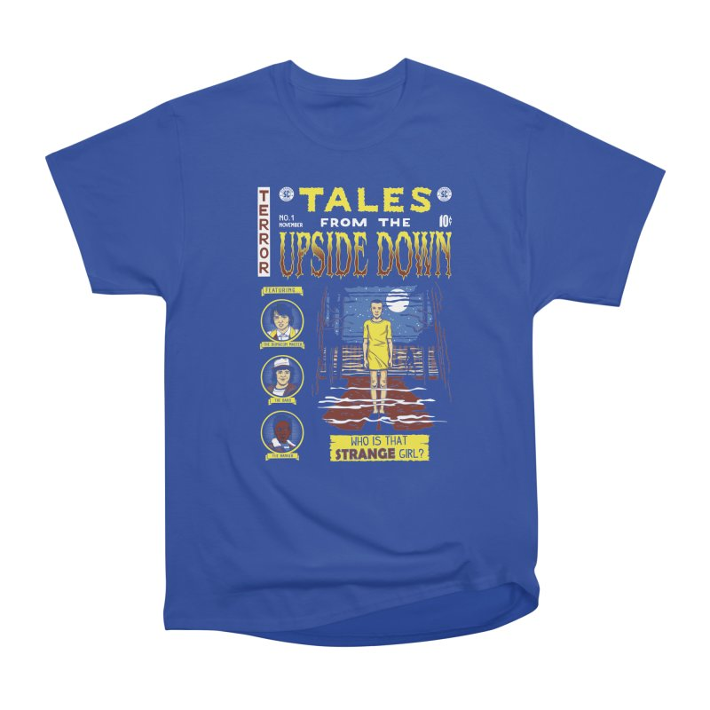 Tales from the Upside Down Men's Heavyweight T-Shirt by Olipop Art & Design Shop
