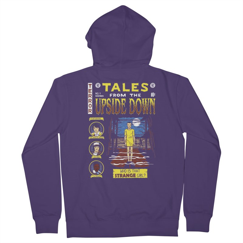 Tales from the Upside Down Women's French Terry Zip-Up Hoody by Olipop Art & Design Shop