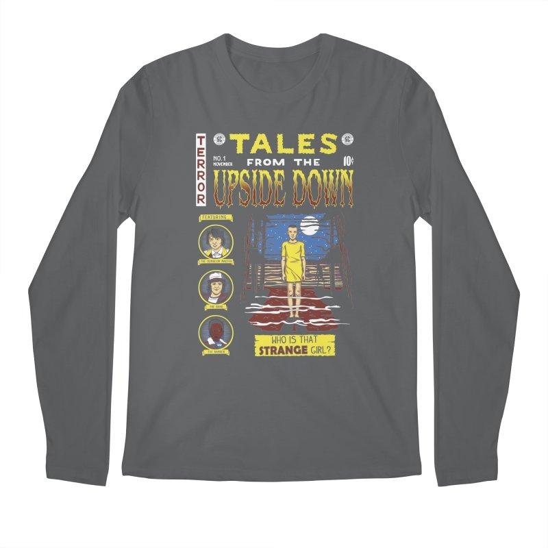Tales from the Upside Down Men's Regular Longsleeve T-Shirt by Olipop Art & Design Shop