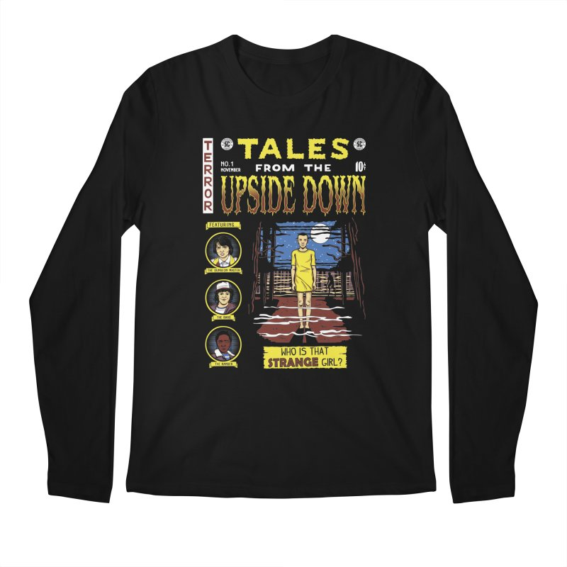 Tales from the Upside Down Men's Regular Longsleeve T-Shirt by Olipop Art & Design Shop